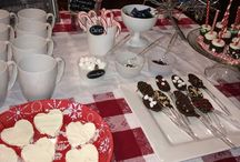 2014 Christmas Eve hot cocoa bar / by Stacy Langford