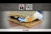 S'more of the Week / Each week, find an all-new S'more recipe to try with family and friends this summer. / by Camp Chef