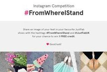 #FromWhereIStand / by JustFab UK ❤