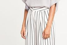 STRIPES / A collection of striped shirts, dresses, and outfits with stripes. Includes casual street style and blogger style.