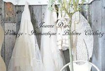 Jeanne D'Arc Vêtements & Accessoires Vintage...Bohème & Romantique / by Là P'tite MôMe BoHèMe CHiC