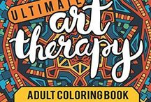 Adult Coloring Books | Sarah Renae Clark / Here's a look at the range of adult coloring books by Sarah Renae Clark.