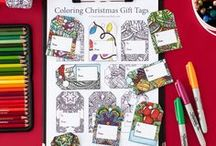 Printables   Sarah Renae Clark / Here's a look at the range of adult coloring pages and other printables by Sarah Renae Clark.