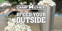 #FeedYourOUTside | Camp Chef / There's no wrong way to feed your outside. Just get out in nature, taste the sunshine, feel the fresh air, and live in the moment. We want to know now...how do you #FeedYourOUTside?
