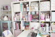 Craft Organization Ideas / Great ideas and products to help you keep your adult coloring supplies, drawing supplies or general art supplies organized!   Pencil storage ideas, coloring supplies, organize your coloring supplies, Copic storage ideas, Copic organization, craft room storage, craft room organization, DIY pencil storage, DIY marker storage