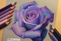 Pencils | Coloring Techniques / These colored pencil tutorials and coloring techniques will improve your coloring and take your finished coloring pages to a new level.