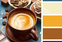 Winter | Color Palettes / Winter color scheme inspiration and color palette combinations for your winter coloring or art projects!