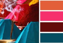 My Favorite Color Schemes / I love these color palettes and color combinations - Great for adult coloring page art, DIY craft projects, home decor, fashion or anything creative.