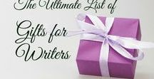 Gifts for Writers / A selection of gifts for writers and authors, regularly updated and maintained at Writers Unplugged.