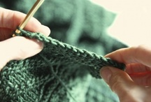 Knitting & Crocheting - Techniques & Stitches / by Sarah Cieslinski