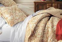 Warm Traditional Master Bedroom