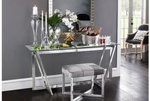 Sophisticated / Slightly Modern Living Room