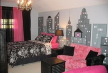 Girls Room Ideas / A Collection of creative and stylish bedrooms for little girls.