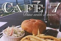 Café 7 / Rock City's southern cuisine restaurant located atop Lover's Leap! Open daily from 11am-4pm through August and then Thursday-Sunday though October! / by See Rock City
