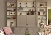 Living Room Transitional Design + Dream Kitchen