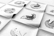 Birds / Set of illustrations  / by Creatorica ·