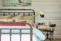 Farmhouse French Country Cottage Shabby Chic / My favorite decorating style for inspiration