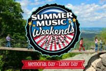 Summer Music Weekends / Enjoy some toe-tapping old time, bluegrass, and country music and a Seven States View during Summer Music Weekends (Memorial Day - Labor Day)! / by See Rock City
