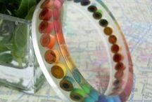 Jewelry ❤ Resin / Jewelry / Resin Crafts ~ Resin / Diamond Glaze / by Becky Hayes