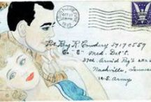 Crafts ❤ Mail / Envelope Art / Send your penpal decorated envelopes, illustrated envelopes, snail mail, envelope art, mail art, calligraphy envelopes, happy mail, watercolor mail, addressing mail, artistic envelopes, mail me art, altered art, envies...    / by Becky Hayes