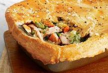 savory recipes to try / by Trisha Prall Czyz