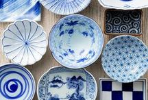 blue and white / by Lorie McCown