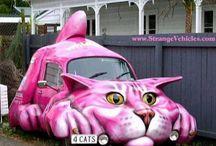 Art:    Cars / Art cars, cars, vehicles, repurposed autos