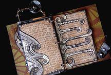 Art:  Journal / att, journal, mixed media,