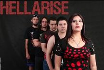 HellArise - www.hellarise.com / HellArise is a female-fronted melodic death/thrash band, from São Paulo, Brazil. My band, my passion, my music, my true love!