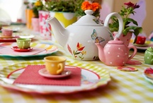 Tea party birthday ideas for the twins / by Lesley Weidenbener