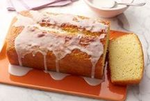 Baking ideas / Sweet delicious breads, cakes and cookie recipes