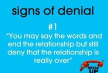 Denial after Breakup
