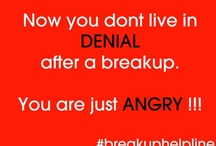 Anger after Breakup
