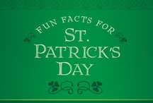 St. Patrick's Day Infographics / The best infographics about Saint Patrick's Day and all things Irish.