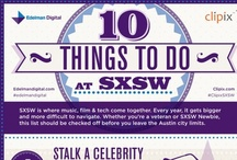 SXSW Infographics / by Visually