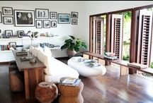 Caribbean Glam™ Living Rooms