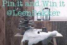 'Leen Bakker Winterse Woonideeen' / Mijn favoriete items en woonideeën van Leen Bakker, om mijn huis helemaal Comfy Cosy in te richten deze winter!