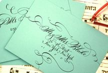 Calligraphy + Fonts + Stationery