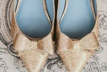 Fabulous Wedding Shoes / Beautiful heels and flats for the wedding day.