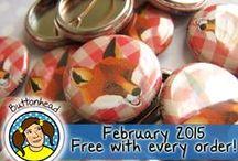 Buttonhead: About Our Biz! / We make YOUR personalized party favors, keepsakes, and promotionals.