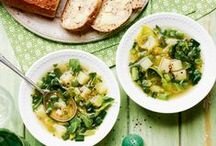 Soup Recipes / There's nothing like a warm bowl of soup on a cold day. Grab a bowl and some crusty bread...