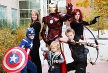 Avengers Costume Ideas / Assemble your very own team of Avengers with these awesome Marvel costume ideas from CostumeSuperCenter.com! / by Costume SuperCenter