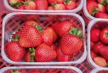 British Strawberries / Make the most of sweet British strawberries with these tasty ideas