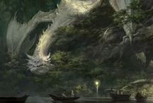 Mythic / Pinned inspirations and visual reference for the Mythic gameworld project. / by John Wesley O'Seadna
