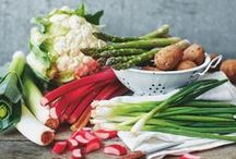 Seasonal Fruit and Veg / Make the most of seasonal British fruit and veg with these easy recipes