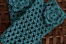 Crochet handwear