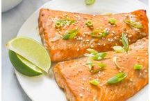 Fish & Seafood Recipes / Easy, healthy and delicious fish and seafood recipes for lunch and dinner ideas.