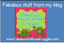 From me ~ Fabulous 4th Grade Froggies!  / by Fabulous 3rd Grade Froggies