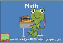 Math / by Fabulous 3rd Grade Froggies
