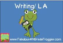 Writing & Language Arts / by Fabulous 3rd Grade Froggies
